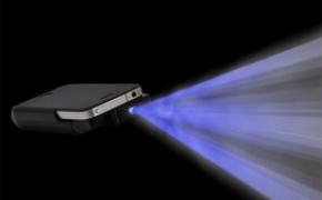iPhone的微型投影仪