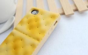 饼干样式的iPhone手机保护壳