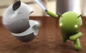 Android VS Apple Lightsaber