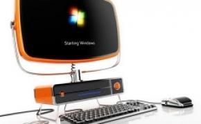 超绚丽的复古风格台式电脑