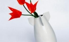 核弹头样式的花瓶