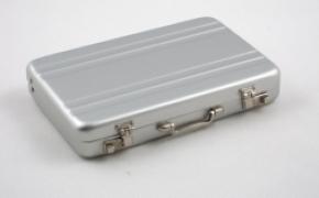 密码箱造型铝质名片盒