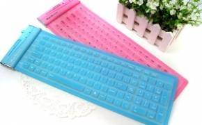 防水无声的果冻硅胶键盘