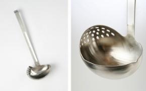 汤勺和漏勺结合在一起是什么样