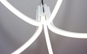 花朵形状的LED吊灯