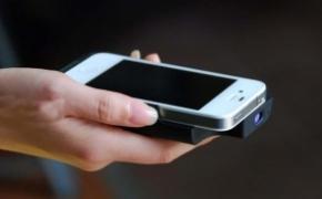 iPhone 便携式手持微型投影机