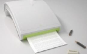 铅笔芯做墨的打印机