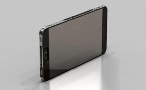 iPhone5概念设计 液态金属外壳