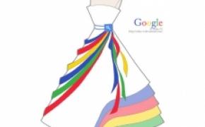 著名网站风格的裙子