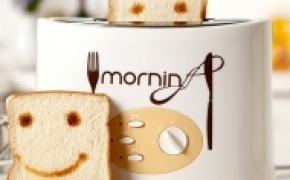 会微笑的面包机