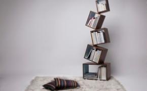 新奇特的平衡书柜