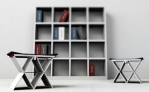 创意的折叠书本凳子