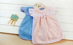 围裙样式的擦手毛巾