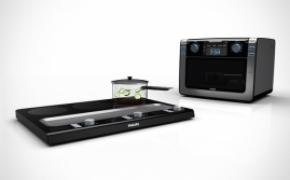 方便实用的微波炉和电磁炉