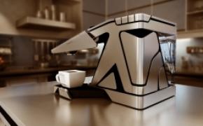 充分利用空间的创意咖啡机