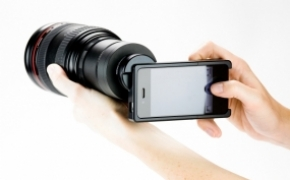 iPhone 单反镜头转接环