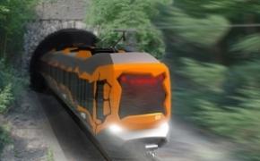 充满艺术风格的火车