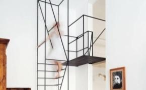 优雅而简约的创意楼梯