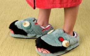 僵尸影迷肯定喜欢的拖鞋
