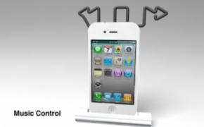 创意Iphone概念基座