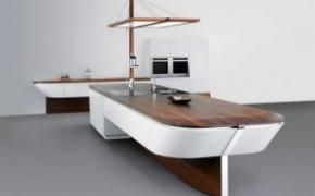 轮船一样的梦幻厨房
