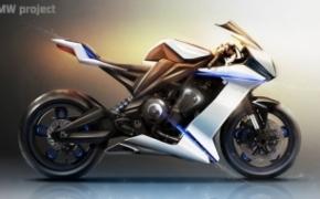 超酷概念摩托车