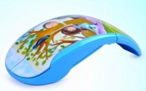创意艺术折叠鼠标
