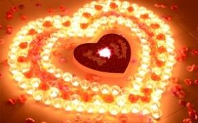 创意生日求婚蜡烛