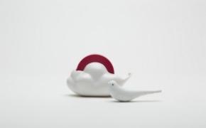 有趣的云朵胶带切割器