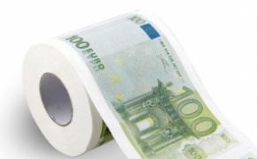 新奇恶搞钞票厕纸