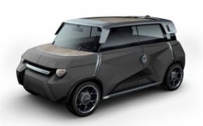 丰田概念电动小车