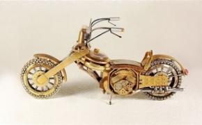 手表再生摩托车