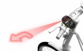 自行车上的GPS导航仪