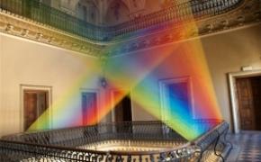 人造绚丽彩虹