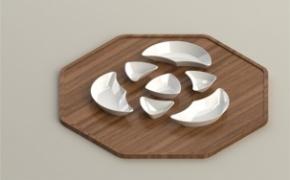 很有风格的陶瓷餐具