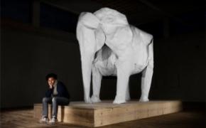 1比1折纸大象