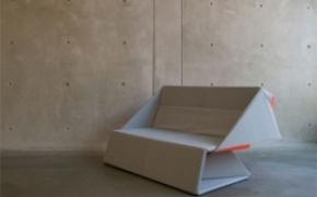 有趣的折纸沙发