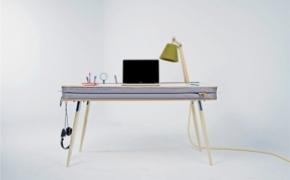 刚柔并济的办公桌