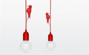 可爱有趣的小鸟吊灯