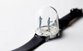 手表里的雕塑时光