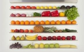 美丽醒目的水果墙