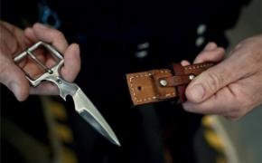 刀锋型皮带腰带设计