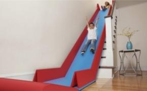 孩子天堂的折叠滑梯设计