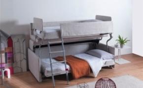 非常方便的上下铺沙发床