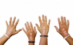 全球首款投影式智能手环