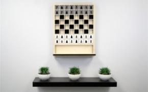 新颖的壁挂式国际象棋