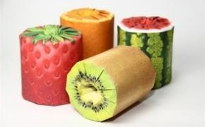 卡哇伊的水果纸巾