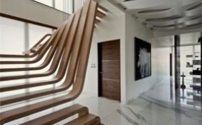无扶手楼梯设计