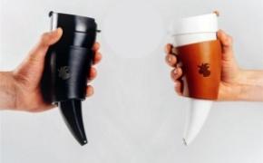 羊角咖啡杯