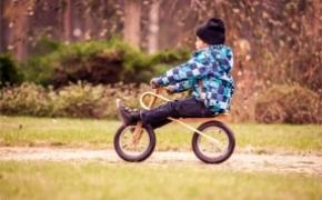 时尚儿童自行车